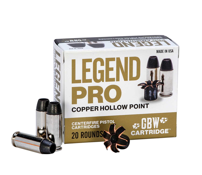 GBW Legend Pro ammunition