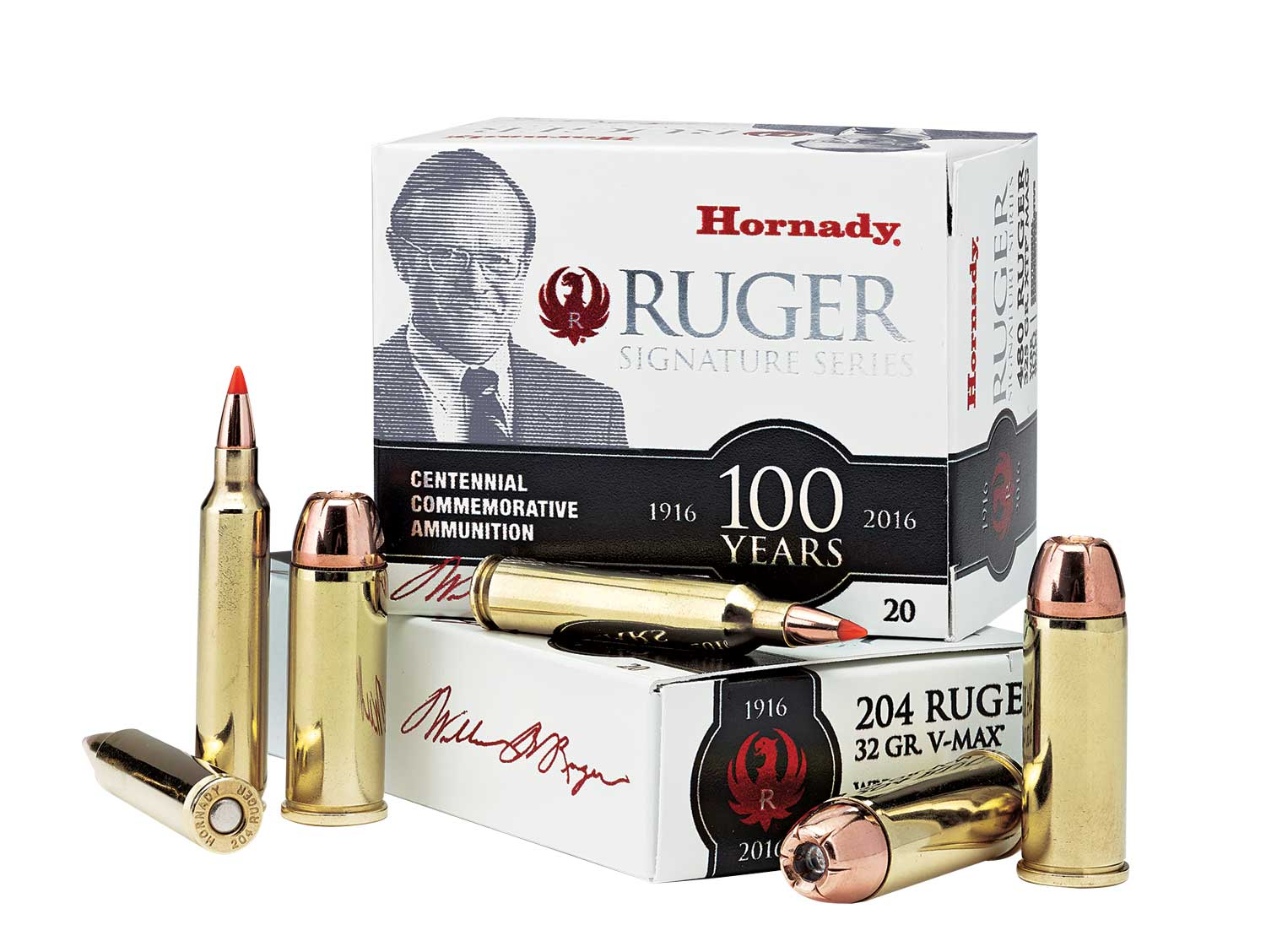 Hornady Ruger .204 Commemorative ammunition box