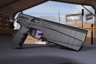 SilencerCo Maxim 9 pistol right side profile