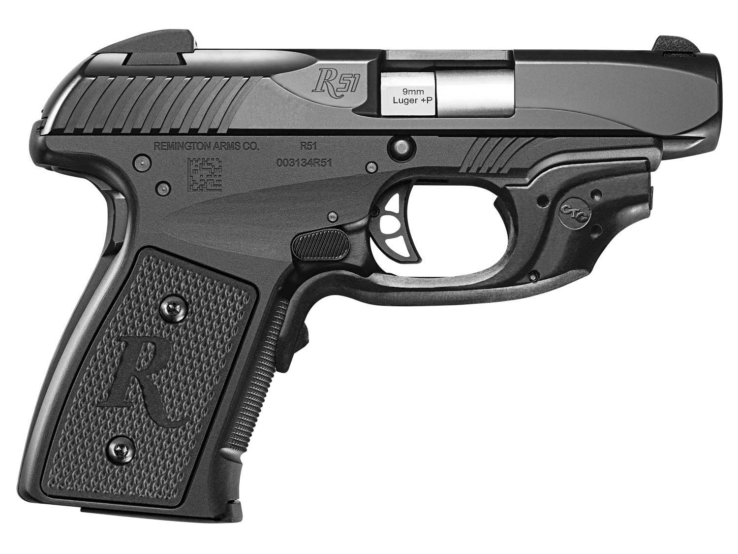Remington R51 with Crimson Trace Laserguard