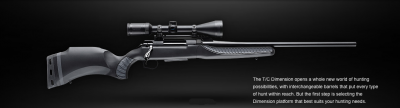 T/C Dimension rifle profile right