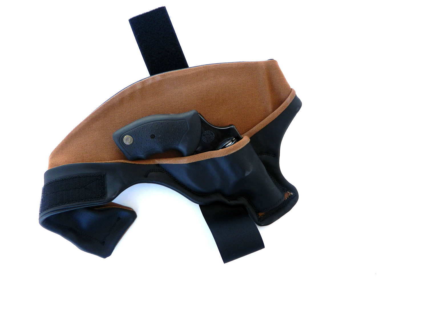 3Speed holster with Taurus 605 .357 Magnum revolver inside