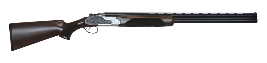 CZ Wingshooter Elite shotgun with dark wood stock right