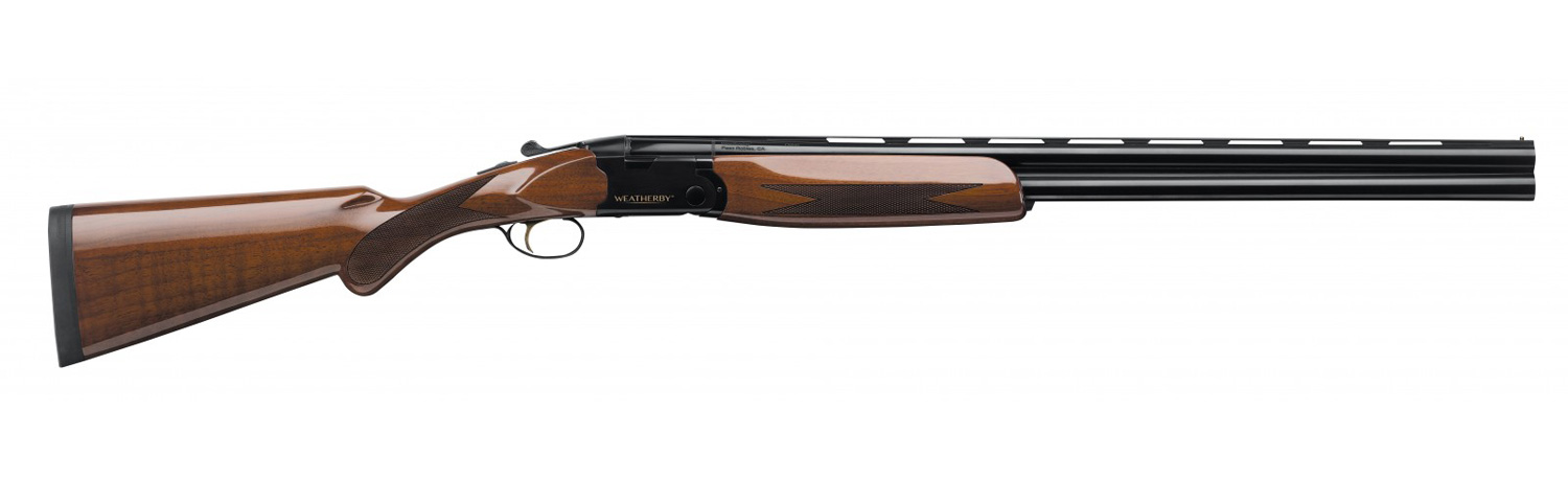 Weatherby ORION I shotgun with wood stock right