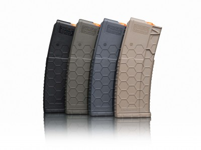 HexMag AR-15 magazines in four colors
