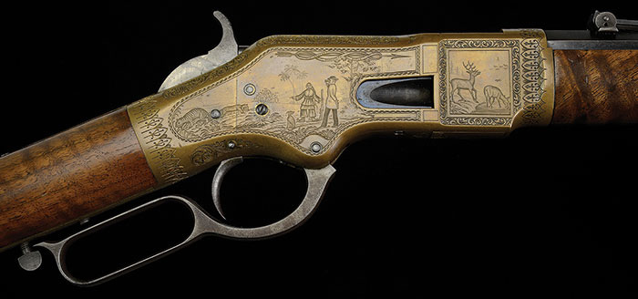 C.F. Ulrich Engraved Winchester Model 1866