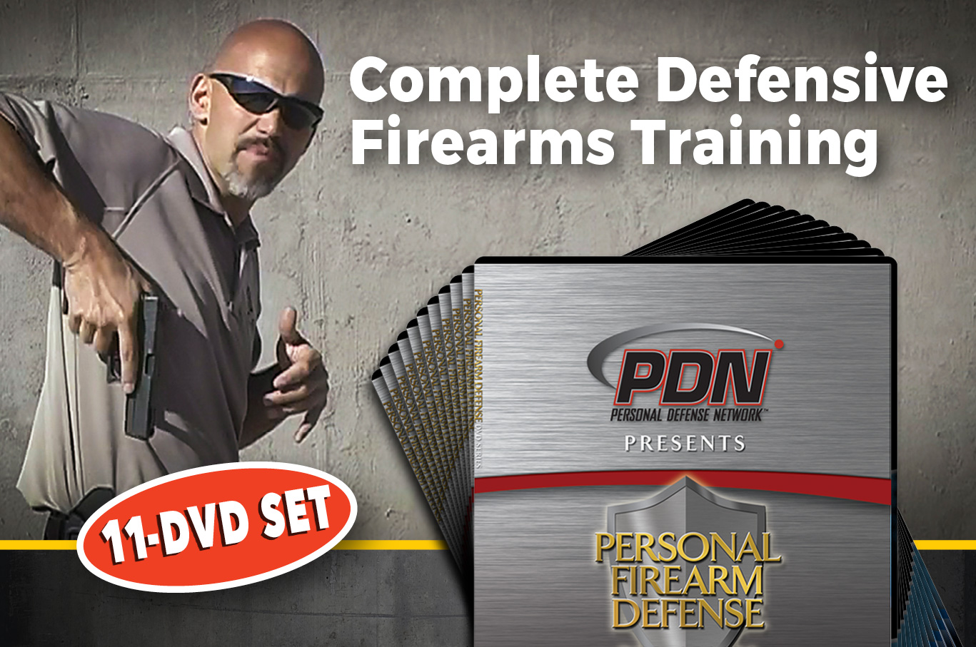 Personal defense network 11 DVD giveaway promo