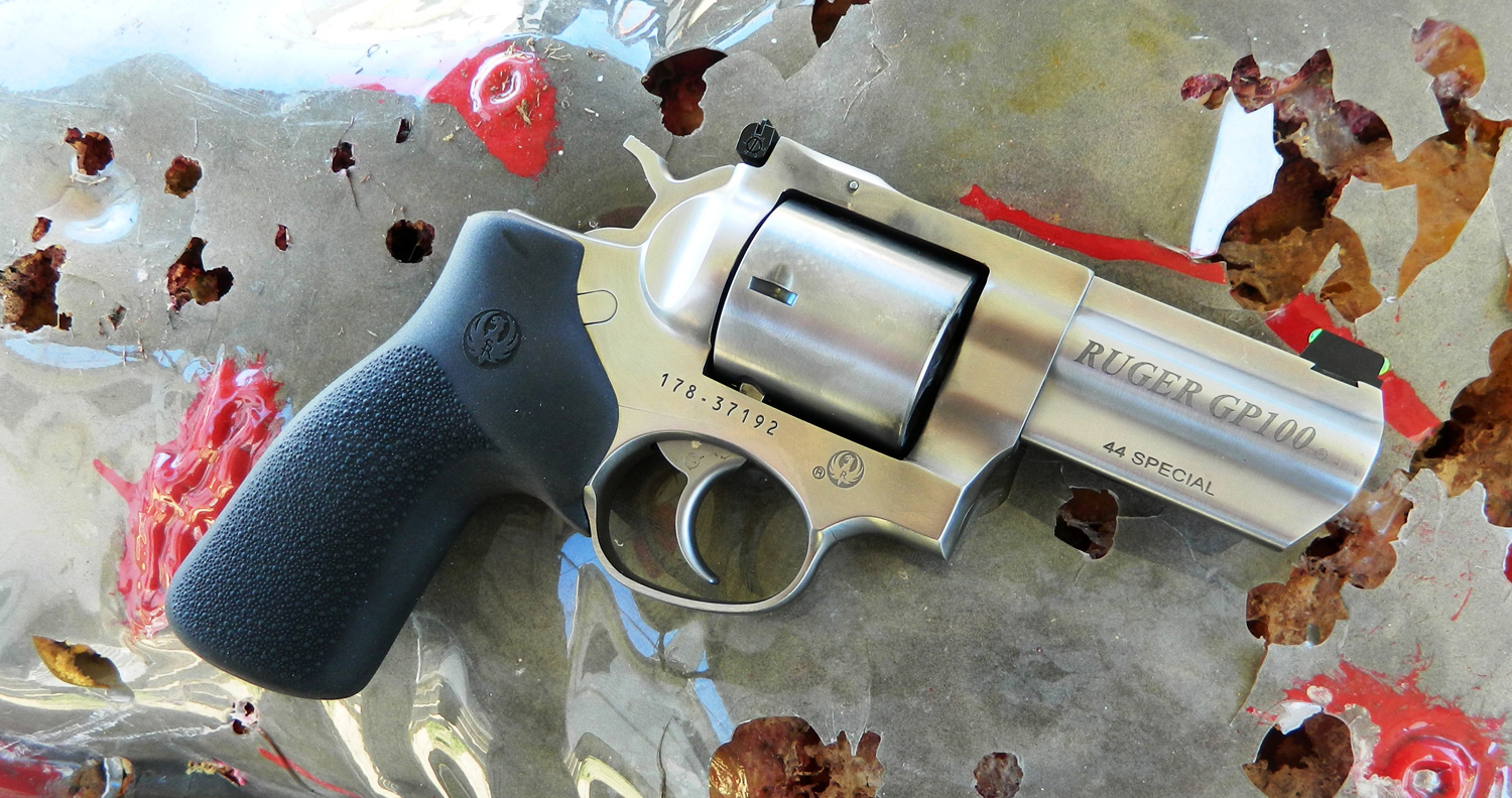 Ruger GP100 .44 Special revolver right side