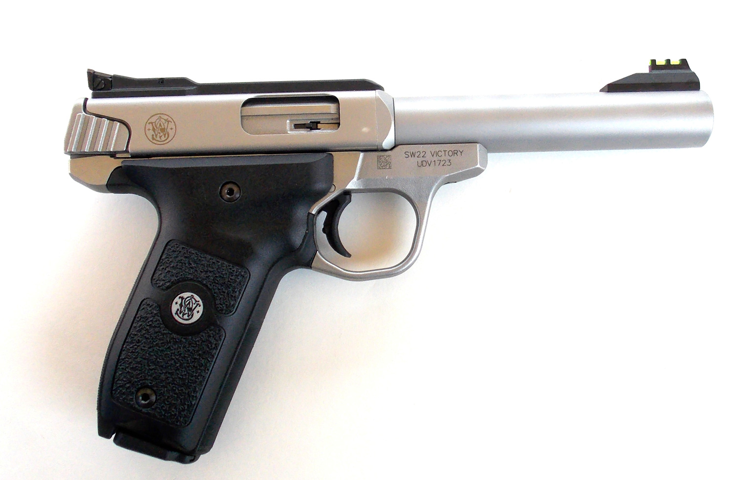 Smith and Wesson Victory pistol right profile