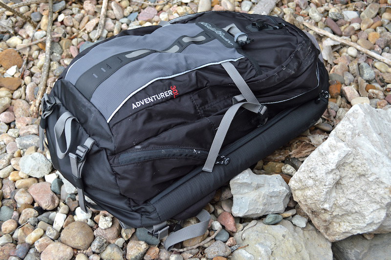 Black Eddie Bauer backpack