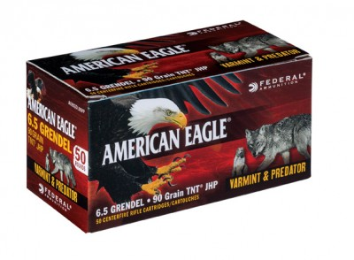 American Eagle 6.5 Grendel ammunition box