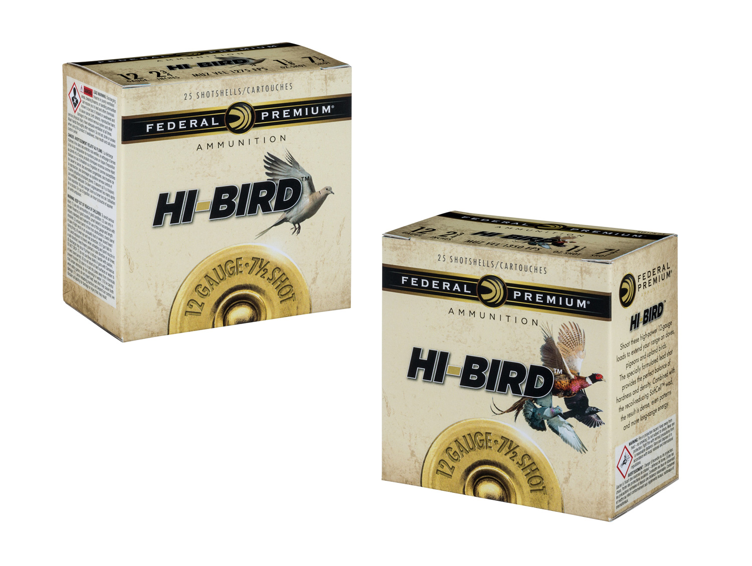 Federal Hi-Bird shotshells box