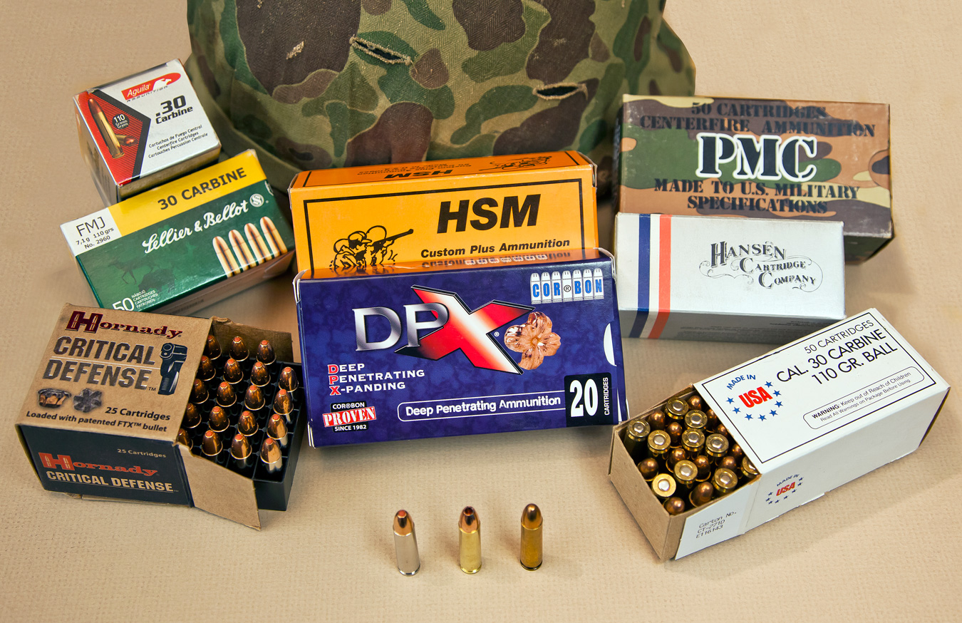 Various boxes of ammunition