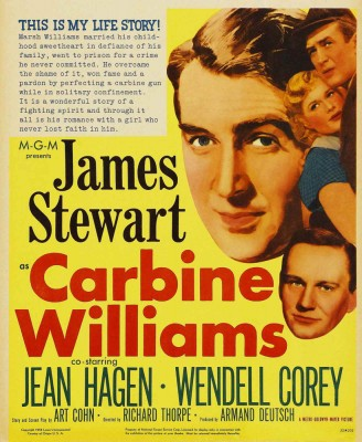 Carbine Williams movie poster