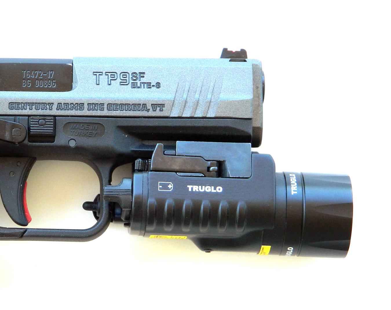TP9 SF Elite S fitted with a TruGlo light