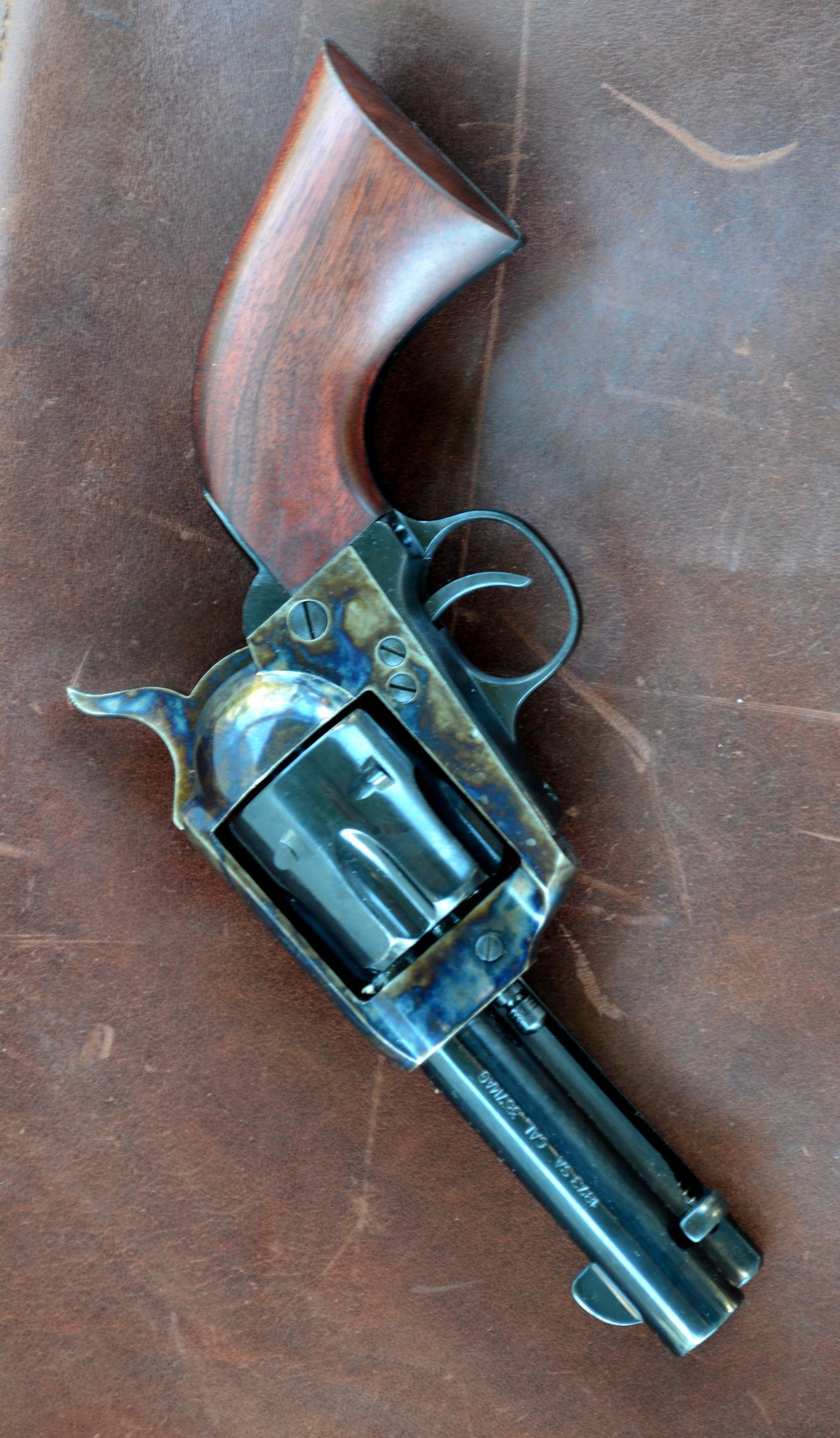 Traditions Sheriff's Model Revolver left profile