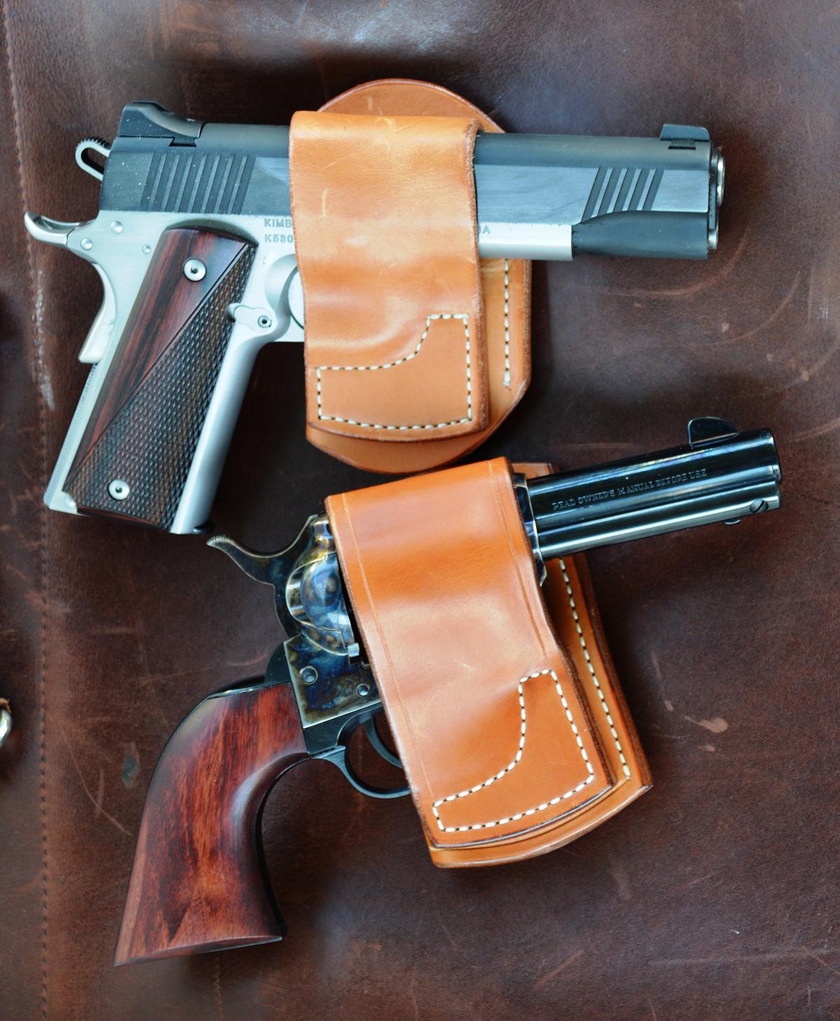 Rocking K Belt Slide holsters