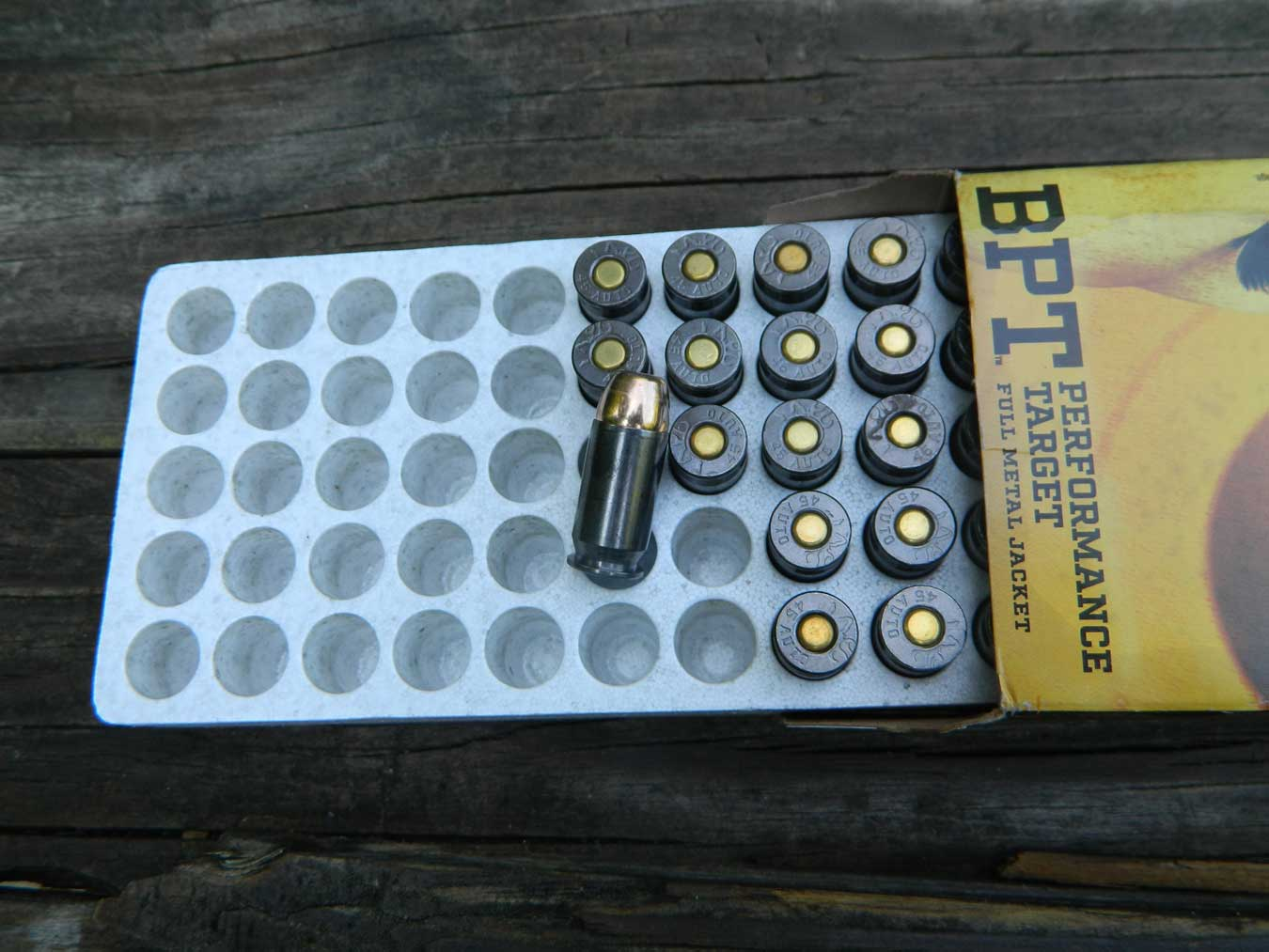 Open box of Browning Ammunition