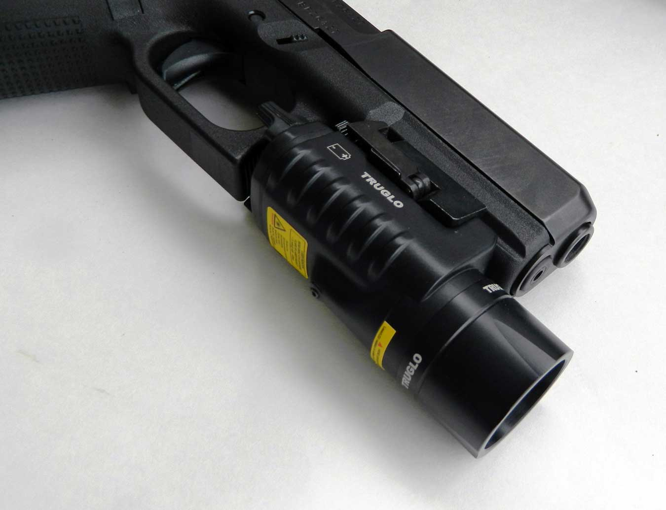 TruGlo combat light on Glock 17 Gen 5