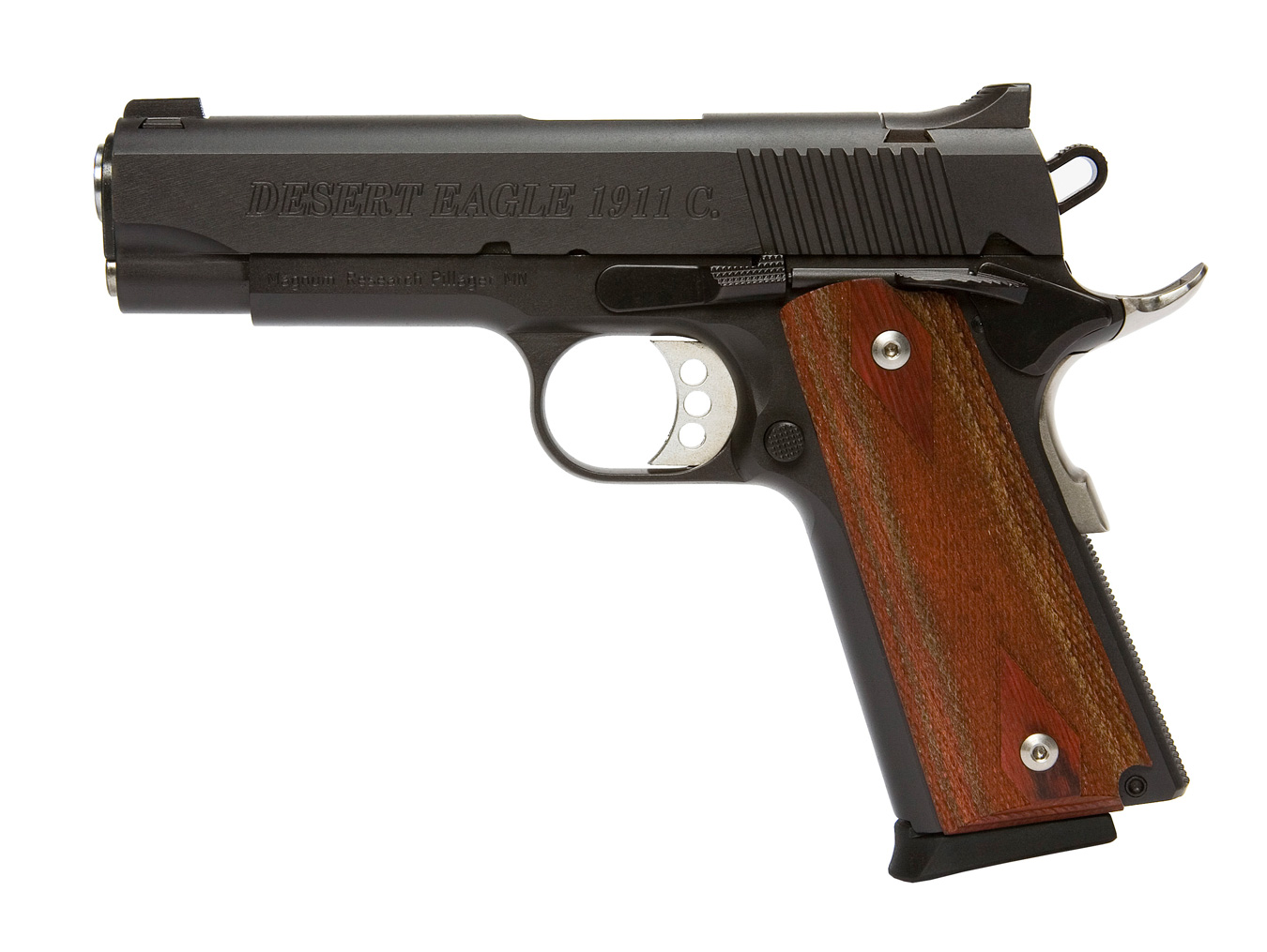 Baby Desert Eagle 1911 pistol left profile