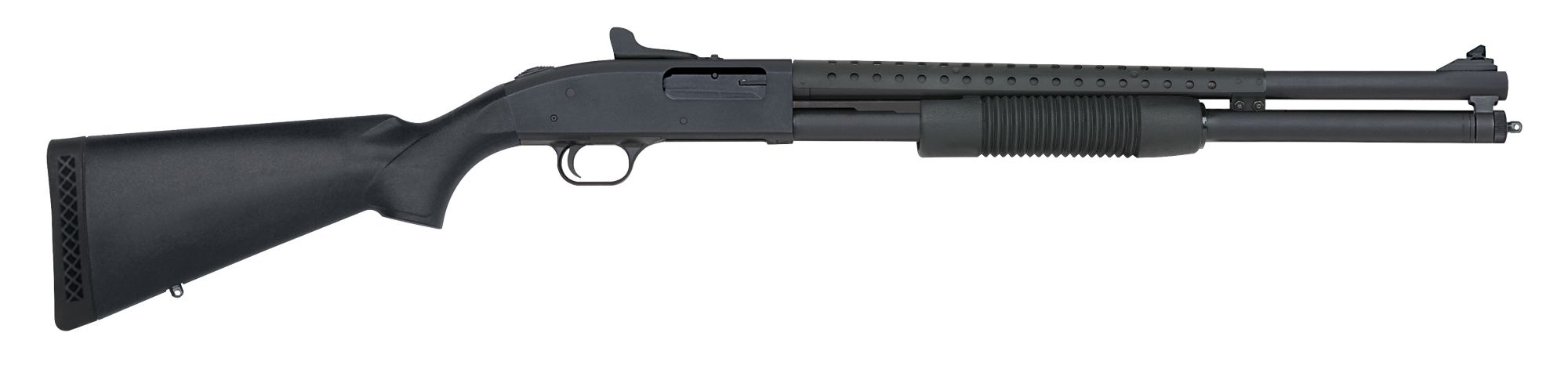 Mossberg 500 Tactical shotgun right profile