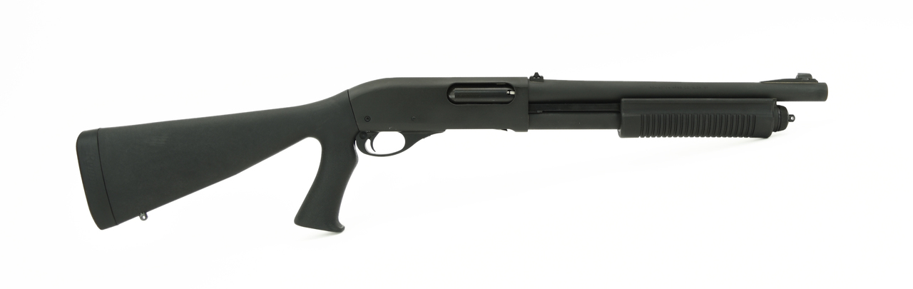 Remington 870 Police shotgun right profile