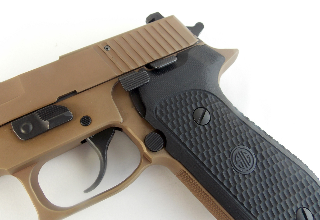 controls on the SIG Sauer Emperor Scorpion
