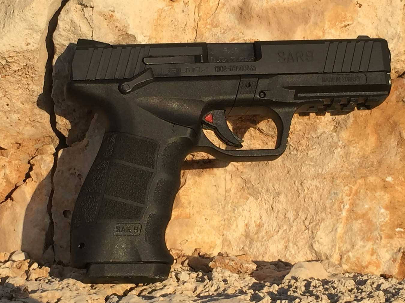 Sarsilmaz SAR 9 pistol right profile