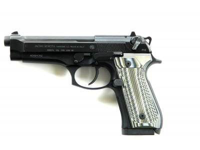 WIlson Combat 92 with VZ Grips profile left