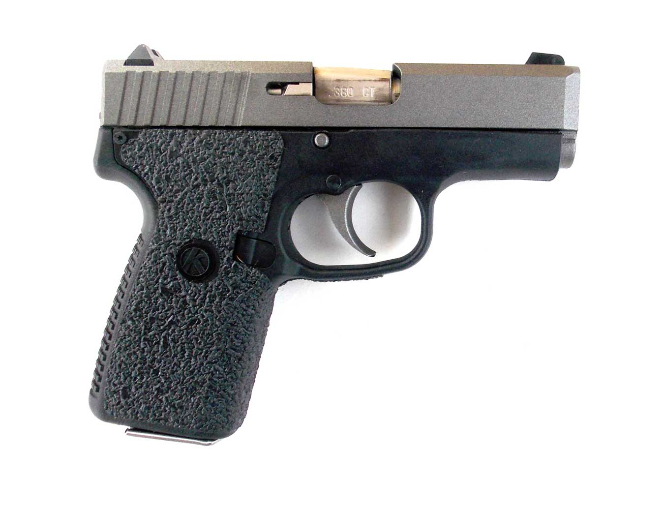 Kahr .380 Tungsten pistol, profile right