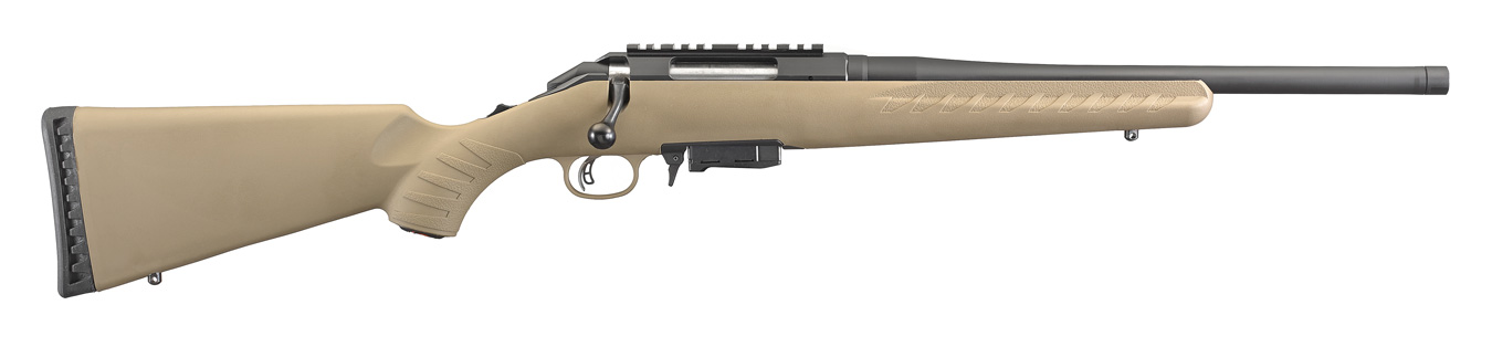 Ruger American rifle profile right