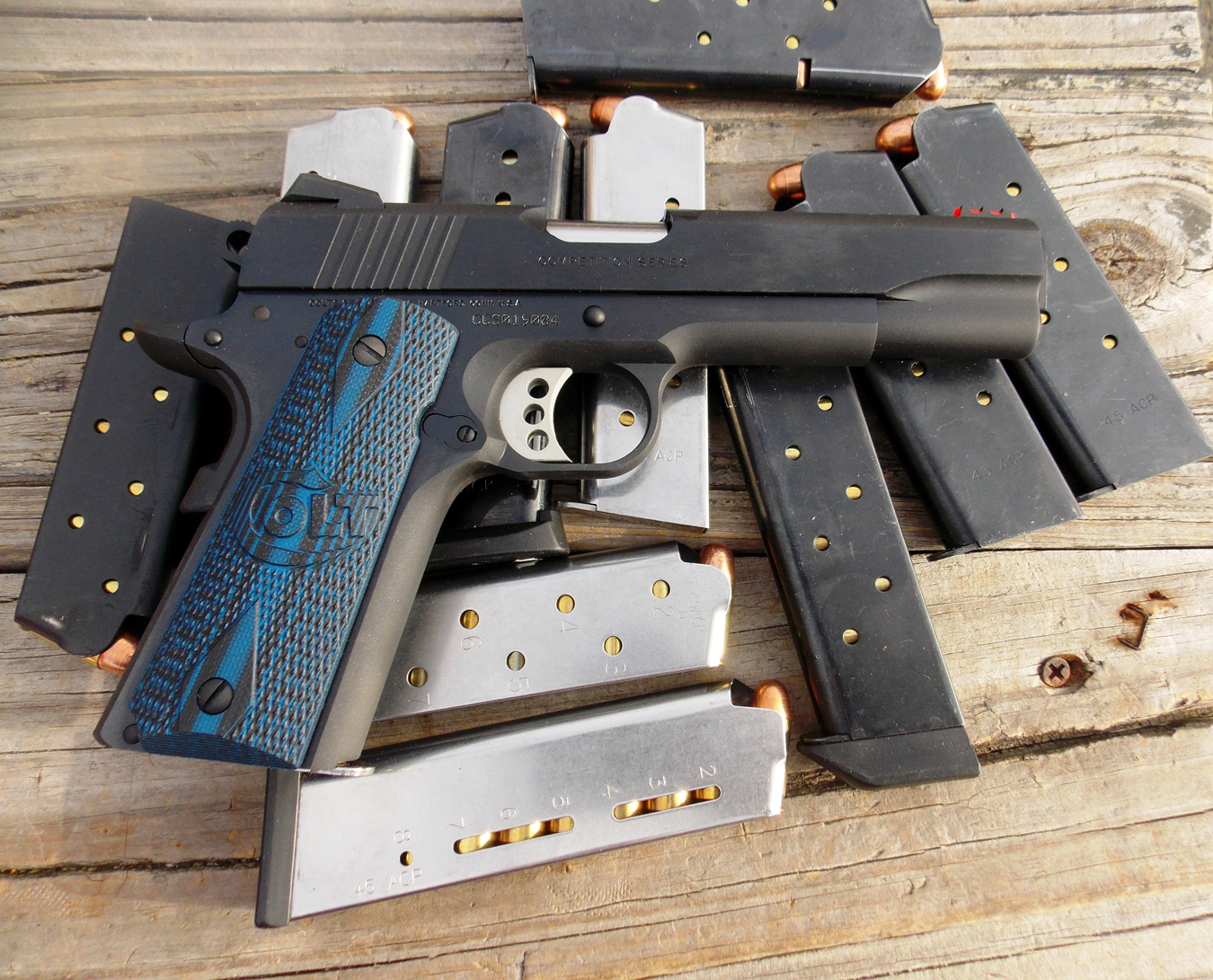 range report colt s competition pistol 1911