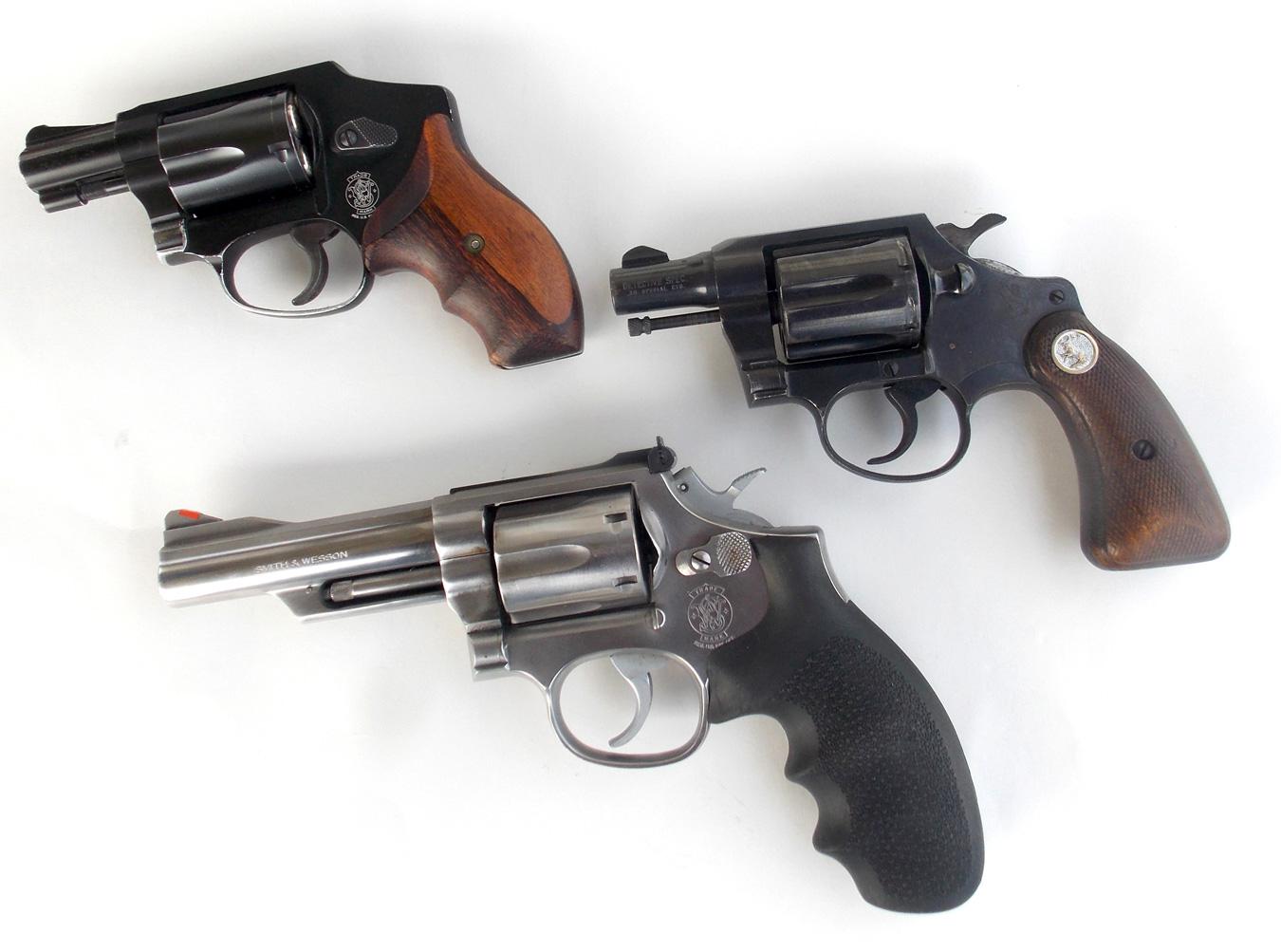 3 revolvers