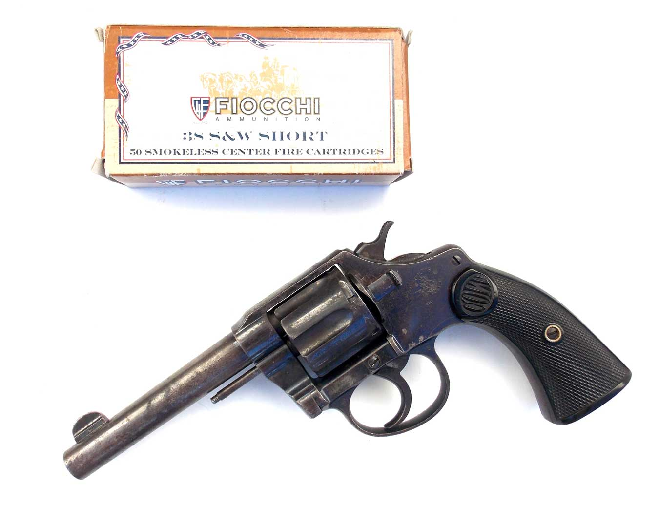 Colt Police Positive revolver left profile