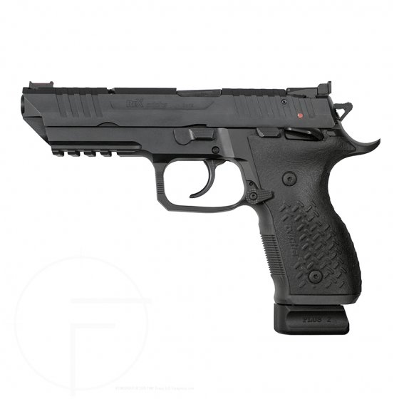 Arex Rex Alpha 9 pistol left profile