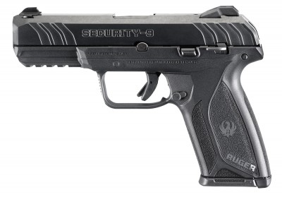 Ruger Security-9 9mm pistol left profile
