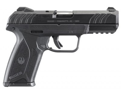 Ruger Security 9 pistol right profile black