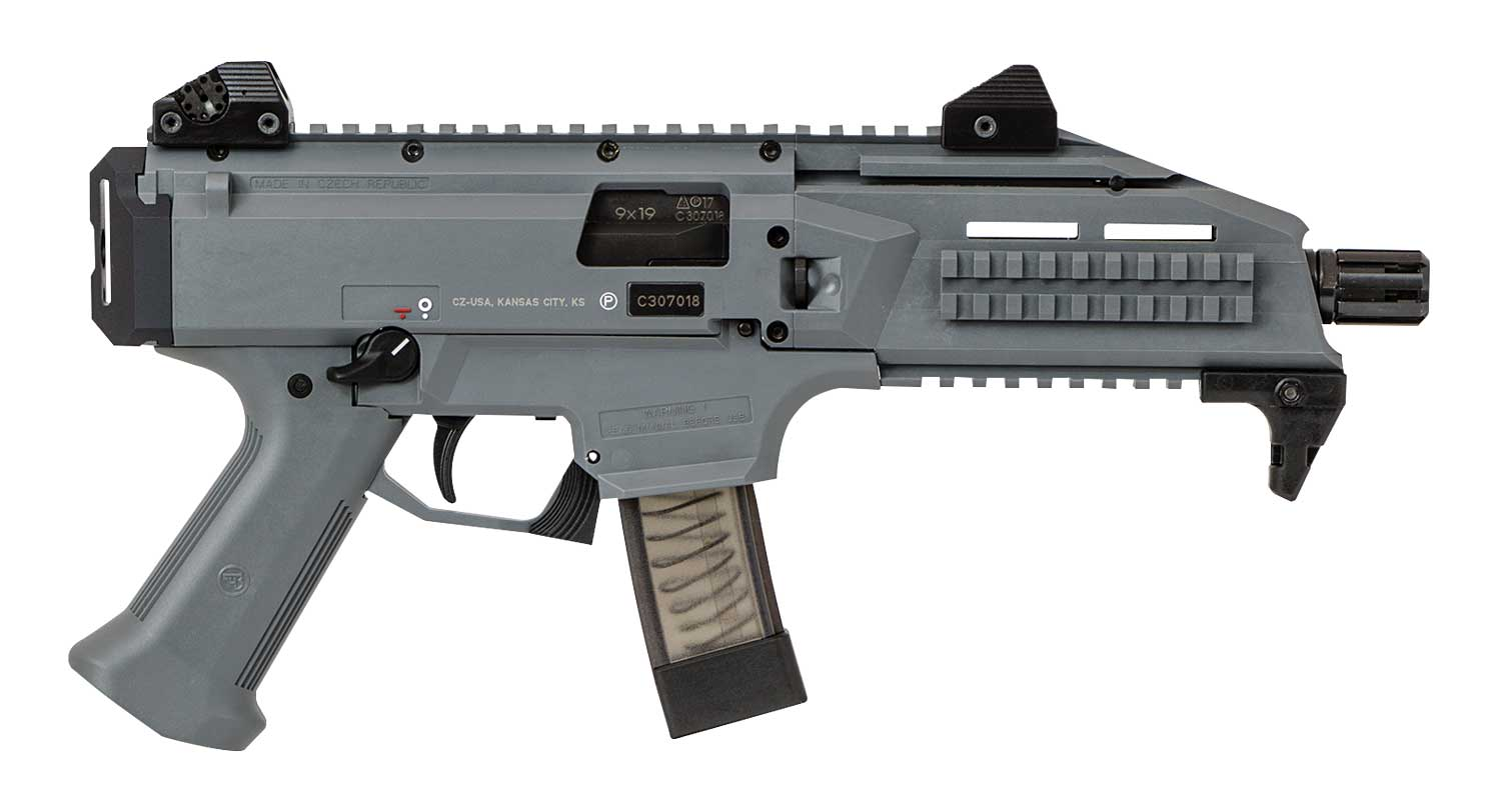 CZ-USA's Scorpion with SB Tactical arm brace