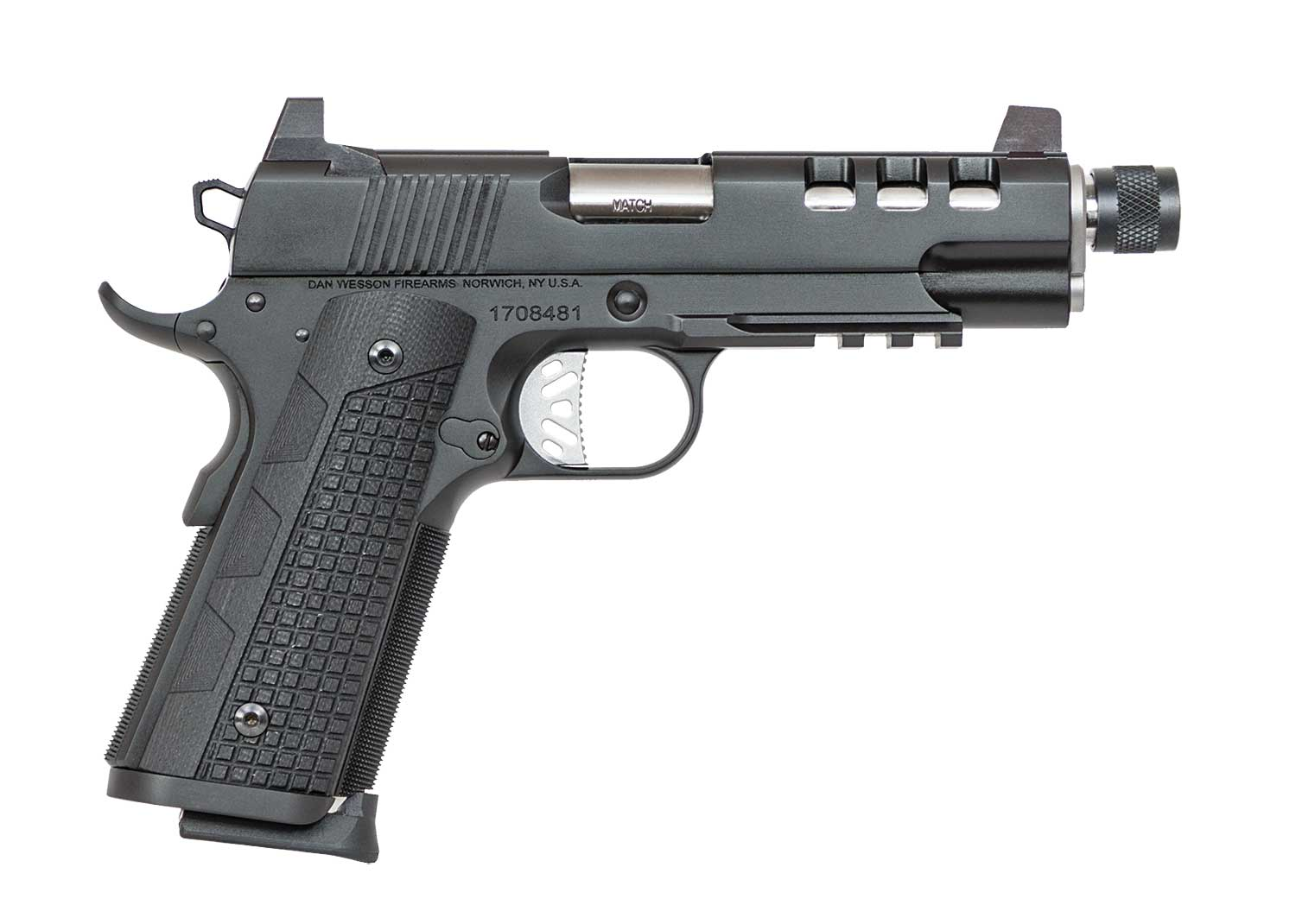 Suppressor-ready Dan Wesson Discretion 1911