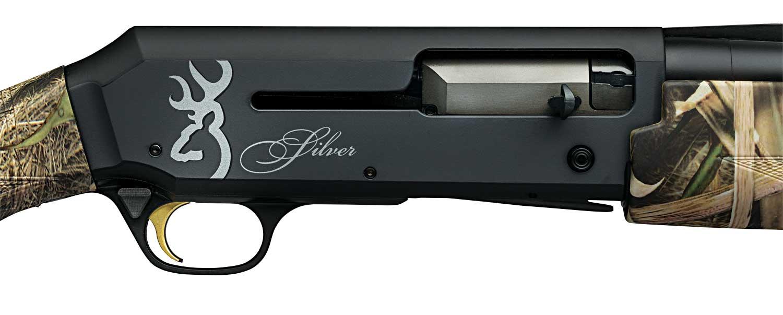 Browning Silver Field Mossy Oak Shadow Grass Blades 12-gauge semi-auto shotgun