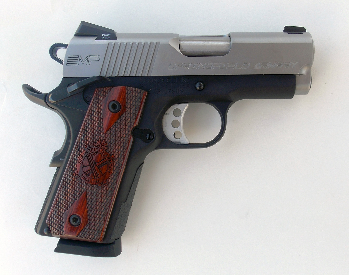 Springfield EMP pistol right profile