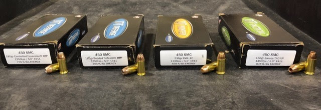 four boxes of double tap ammunition