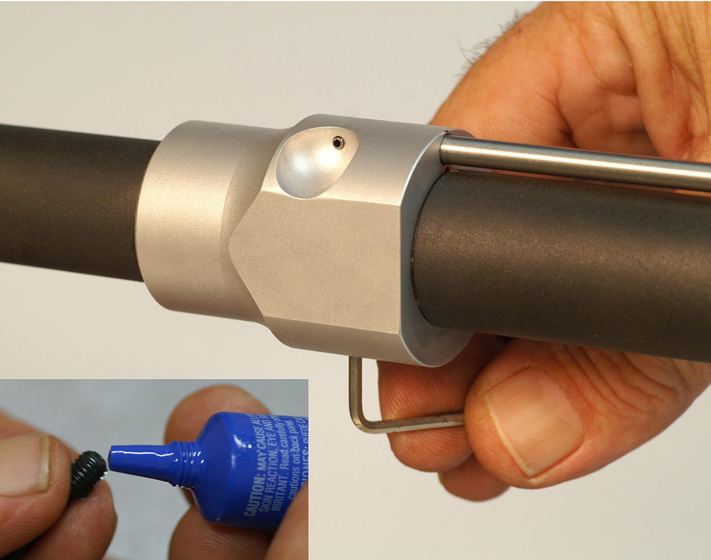 AR-15 gas manifold