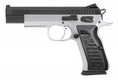 European American Armory Witness Elite Match pistol profile left