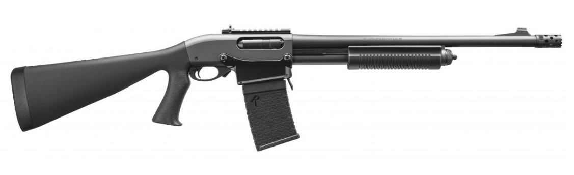 Remington 870 DM Tactical shotgun right profile