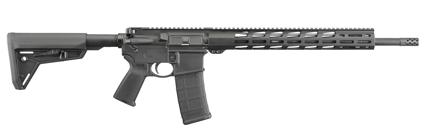 Ruger MPR rifle right profile black