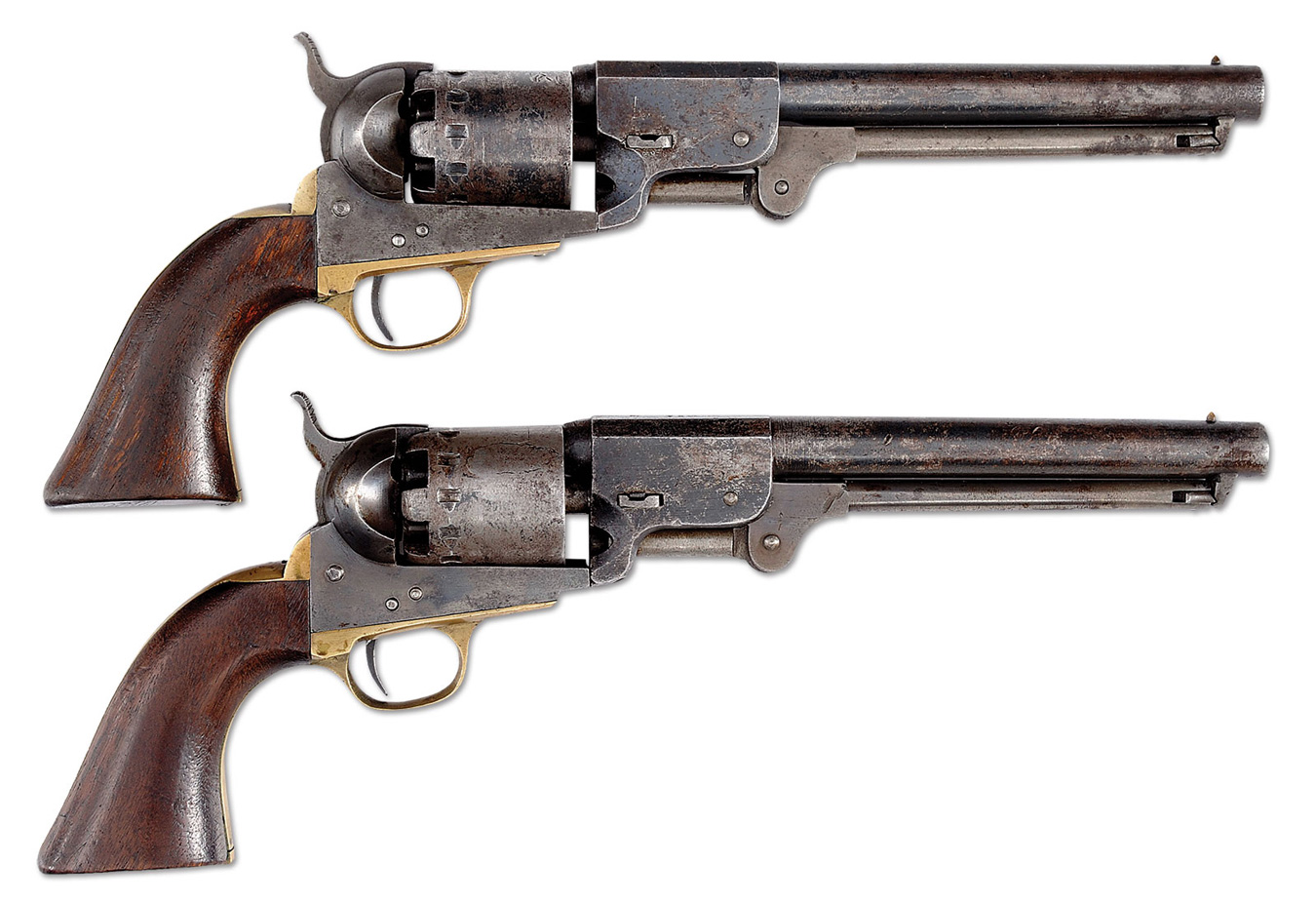 Consecutively Numbered Confederate Pistols Known, Rigdon & Ansley Revolvers