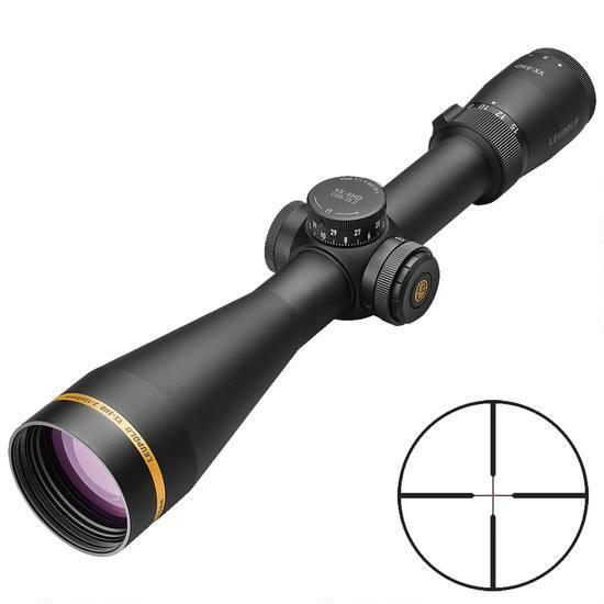Leupold VX-5HD 3-15x56 Riflescope With Illuminated FireDot Duplex Reticle