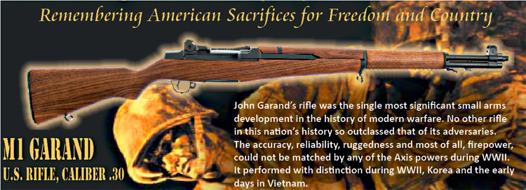 Remembering America's Sacrifices: M1 Garand