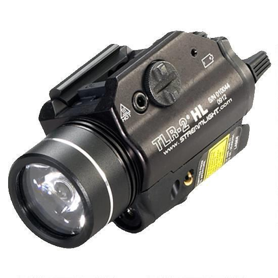 Streamlight TLR-2 HL LED Weaponlight and Red Laser